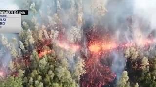 Earth Quakes Rock Hawaii as Kilauea Volcano Errupts....||NEWS