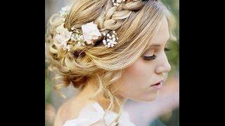 En Güzel Örgü&Topuz Gelin Saçı Modelleri