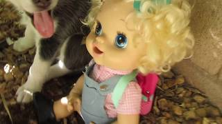 BABY ALIVE Emily Ditches School! (School Series)