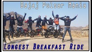 Fauji Dhaba, ALWAR, Rajasthan || Bajaj Pulsar Mania - Longest Breakfast Ride Ever || Bala Quila