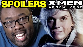 X-MEN APOCALYPSE SPOILERS REVIEW