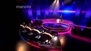 اجرای شب اول امیر حسین در استیج و گریه حامد نیک پی