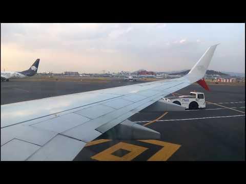 takeoff aicm terminal 2 boeing 738 aeromexico