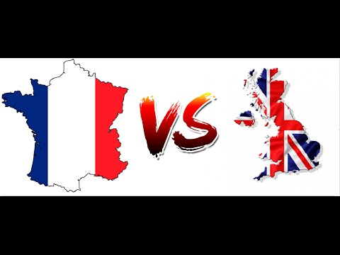 France vs UK war simulation