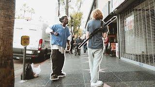 Crazy Homeless Man vs. Danny Duncan!