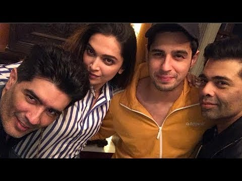 Xxx Mp4 Deepika Padukone And Sidharth Malhotra Meet Karan Johar For A Film 3gp Sex