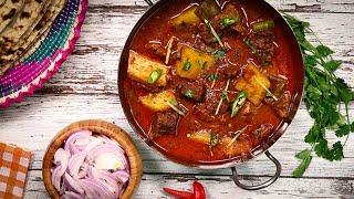 Aloo Gosht - Aloo Gosht (Pakistani Style) Recipe -  Sooperchef