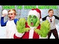 Download Video Download Escape the Babysitter! The Grinch Babysitter Showdown! Escape the Room to Save Christmas Again! 3GP MP4 FLV