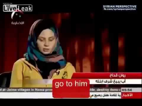 Xxx Mp4 Syrian Girl Talks About Being Forced By Father To Do Sexual Jihad For Muslim Rebels 3gp Sex