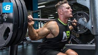Total Leg Burnout Workout | Anthony Lavigne - WNBF Natural Pro Bodybuilder