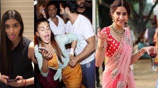 Sonam Kapoor Wedding Celebration INSIDE VIDEO | Arjun Kapoor,Jacqueline,Varun,Karan Johar