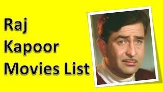 Raj Kapoor Movies List