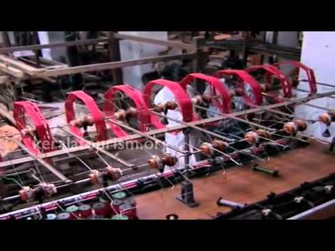 Chendamangalam Handloom Making