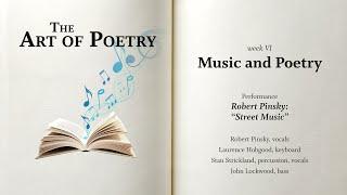 "PoemJazz: ""Street Music,"" by Robert Pinsky"