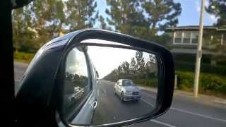 Convex Mirror For Nissan Frontier Eliminates Blind Spot