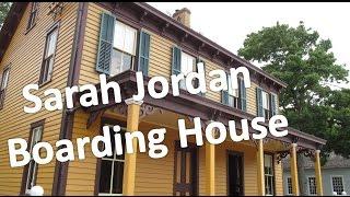 Visiting the Sarah Jordan Boarding House [Greenfield Village Part 11 of 18]