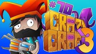 I'M BATM-- A BAT-CHAIR?!?! [#70]   Minecraft Crazy Craft 3.0