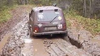 Lada Niva Off road 4x4 Extreme Compilation