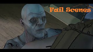 Batman : The Telltale Series - Episode 2 -  Game Over and Fail Scenes