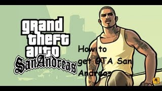 Tutorial-How to Download Gta: San Andreas For PC(Updated 2016)