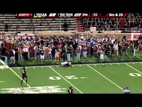 1 Texas vs. 7 Texas Tech 2008