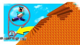 Minecraft THE ULTIMATE LAVA RUN! with PrestonPlayz
