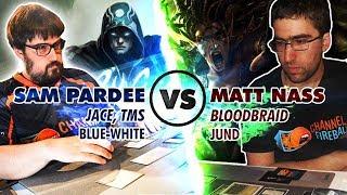 Jace vs. Bloodbraid: Sam Pardee (U/W Control) vs. Matt Nass (Jund) - Modern