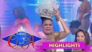 It's Showtime Miss Q & A Grand Finals: Juliana Parizcova Segovia is the Miss Q and A grand winner