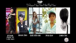 Top 5 rapper nguy hiểm nhất việt nam - 2017