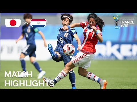 Japan v Paraguay - FIFA U-20 Women's World Cup France 2018 - Match 22