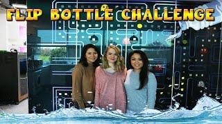 Kelly & Carly Vlogs : THE LITTLE CLUB BOTTLE FLIP CHALLENGE!!