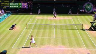 2015 Day 12 Highlights, Serena Williams vs Garbine Muguruza
