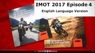IMOT 2017/KTM1090 and 1090 R, KTM1290 R, S, and T Quick Review
