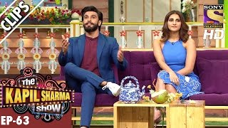 Ranveer shares his Kissing experience - The Kapil Sharma Show – 27th Nov 2016