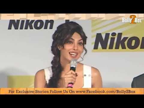 Priyaka Chopra launches new Nikon Camera