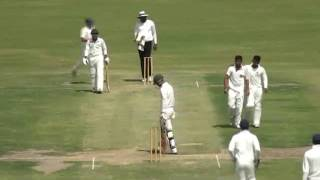 Asad Raza 9 wickets In Match Included Hatric.