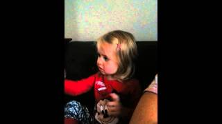 Natasha sings Sofia the first, Shy Princess song