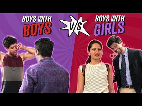 Xxx Mp4 Boys With Boys Vs Boys With Girls Ft Radha Bhatt Comedy Pinkvilla 3gp Sex