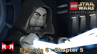 LEGO Star Wars: The Complete Saga - Episode 6 Chapter 5 - iOS / Android Walkthrough