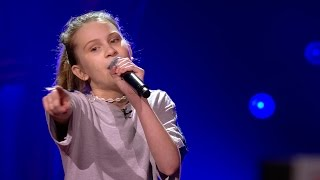 Babs - 'This Girl'   Blind Auditions   The Voice Kids   VTM