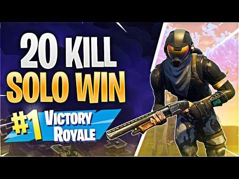 Xxx Mp4 20 KILL SOLO WIN Fortnite Battle Royale 3gp Sex