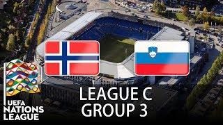 Norway vs Slovenia - 2018-19 UEFA Nations League - PES 2019