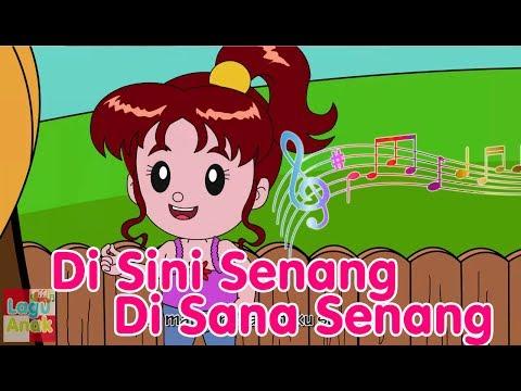 Di Sini Senang Di Sana Senang Lagu Anak Channel