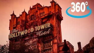 360º Ride on The Twilight Zone Tower of Terror at Disney's Hollywood Studios