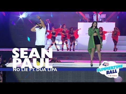 Sean Paul ft. Dua Lipa - 'No Lie'  (Live At Capital's Summertime Ball 2017)