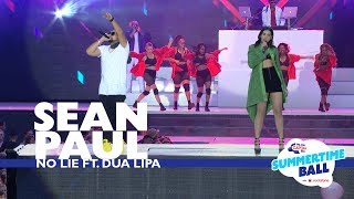 Download Sean Paul ft. Dua Lipa - 'No Lie'  (Live At Capital's Summertime Ball 2017)