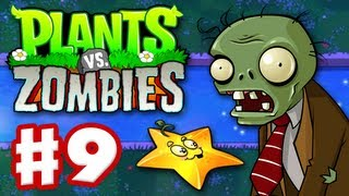 Plants vs. Zombies - Gameplay Walkthrough Part 9 - World 4 (HD)