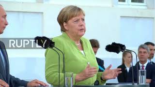 Germany: Merkel, Putin to talk Syria, Ukraine, energy at bilateral meeting