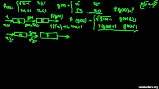 تابع ریاضی ۱۲- مثال از ترکیب توابع