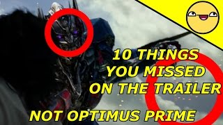 Transformers The Last Knight Trailer Breakdown About 10 Things you missed [PART 1]The fire brothers